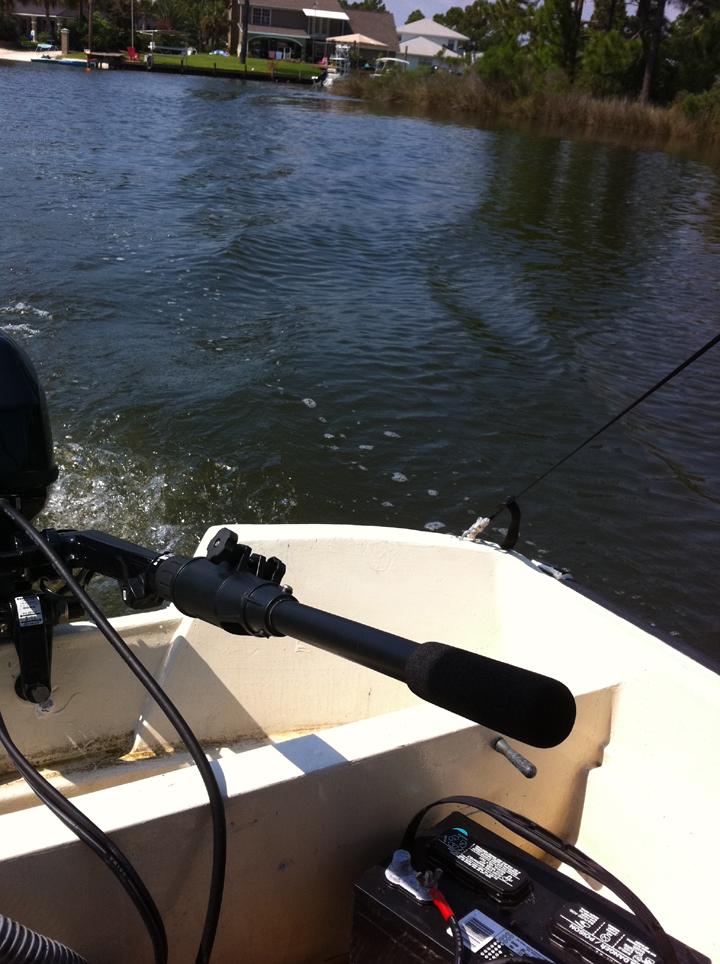 Boston Whaler 13 Sport Outboard Motor Tiller Handle
