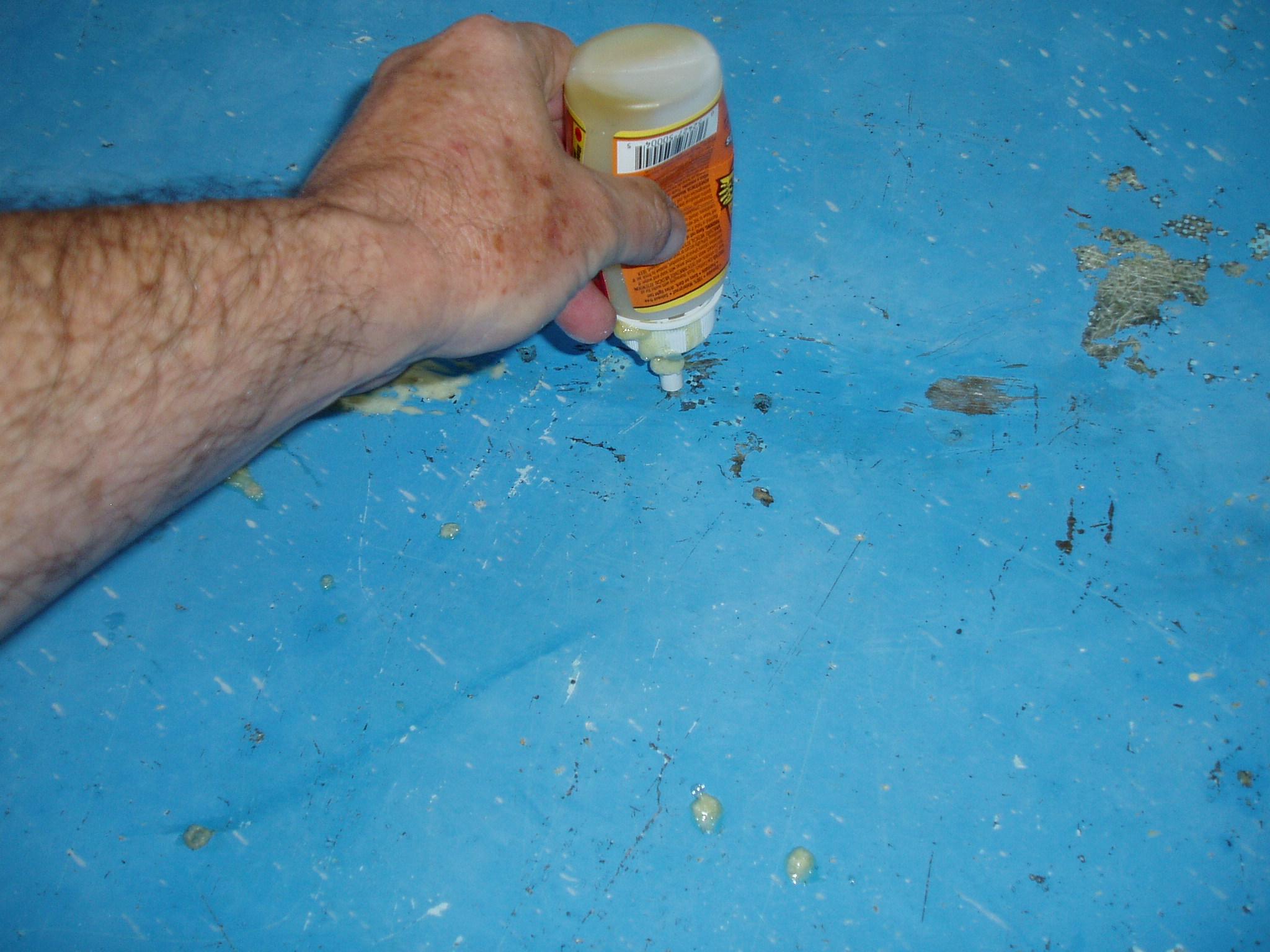 Fixing Soft Spots Or Delamination Using Gorilla Glue Or